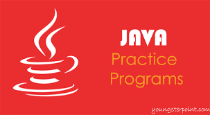 java programs for practice and interview