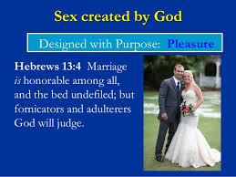 The Marriage Bed Is Undefiled by Biblical View Of Sexuality