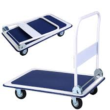 660lbs Folding Platform Cart Dolly Hand Truck