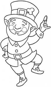 Printable Leprechaun Coloring Pages