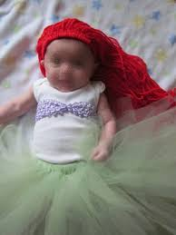 Characters For Halloween With Red Hair by Diy Ariel Costume Little Mermaid Infant Or Child No Sew Tutu