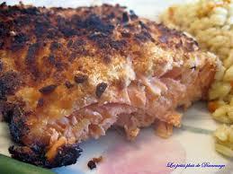 cuisiner filet de saumon recette de filet de saumon en croûte de parmesan