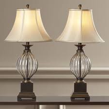 Set Of Bedside Table Lamps by Digby Lantern Style Metal Table Lamp Vintage Red Lantern Table
