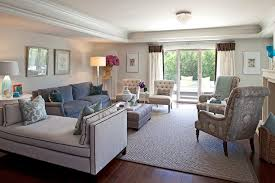 Grey And Light Brown Living Room