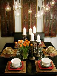 Dining Room Centerpiece Ideas Candles Table Decorations