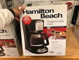 Kohls Hamilton Beach Coffee Makers