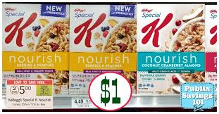 Kelloggs Special K Nourish Cereal 105 Or 126 Oz Box 2 500 Save 100 On ONE KelloggsR Donut Shop Unicorn CerealTM NourishR