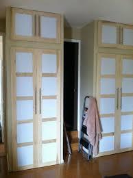 Shoji Style Sliding Closet Doors From Scratch