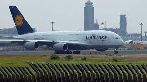 Inaugural Flight] Lufthansa Airbus A380 800 D AIMA takeoff from