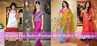 Dazzle The Retro Theme Party With Dresses Collection Of