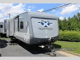 Highland Ridge Highlander Travel Trailer Toy Hauler