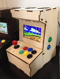 porta pi arcade a diy mini arcade cabinet for raspberry pi by