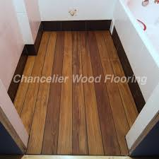 Photos Below Are Some Of Burmese Teak Flooring For Bathroom In High End Villa Projects Which Supplied By Chanelier Wood With
