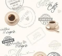 vinyltapete küche vintage kaffee weiß grau 94308 1
