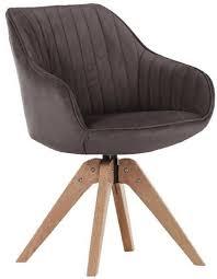 stühle stuhl chill 60696 312 98 braun eiche massiv drehbar