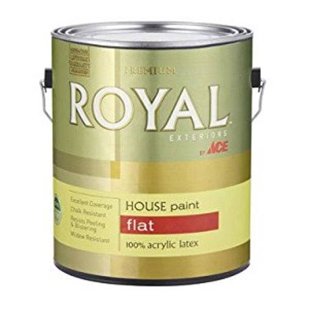 Ace Royal Shield Exterior House Paint - Flat