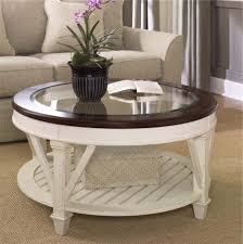 Display Coffee Table Coolest Contemporary Ikea Round With Glass Top Set In Front Of