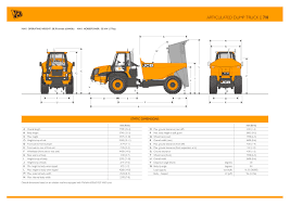 Articulated Dump Track 718 - JCB - PDF Catalogue | Technical ... Rent A Case 330b Articulated Dump Truck Starting From 950day 6 Wheel 5 Ton 42 Ming Chengxin Chelong Brand Dejana 16 Yard Body Utility Equipment 2015 Ford F750 Insight Automotive 922c Cls Selfdrive From Cleveland Land Authorized Bell Dealer For B20e Articulated Dump Trucks And Parts Pickup Trucks Length Amazing Dimeions Best In The Hino Rear Drop Side Fc7jgma Vector Drawing Truck Wikipedia Brand New Foton Etx 6x4 Dump Truck Euro 2 340hp Autokid