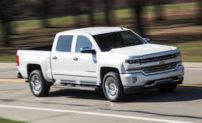 2016 Chevrolet Silverado 1500 Z71 5.3L 8-Speed Automatic Test ...