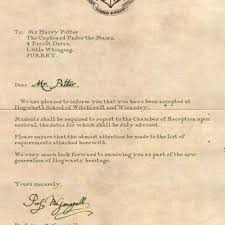 53 Pretty Figure Of Harry Potter Acceptance Letter The Best Mail Site