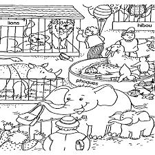 Zoologico Para Colorear 1urlme