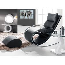 Eagle Furniture Modern Rocking Arm Chair With Ottoman