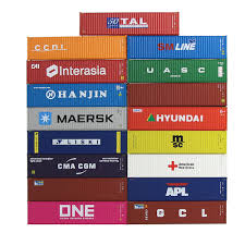 100 Shipping Container 40ft US 1519 5 OFF2pcs S Freight Car N Scale Model Trains Lot C15008 Railway Modelingin Model Building Kits From Toys