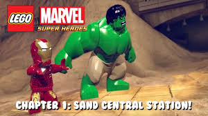 That Sinking Feeling Lego Marvel Minikit by Lego Marvel Super Heroes Chapter 1 Sand Central Station Youtube