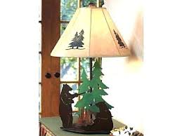 Log Cabin Lamp Full Image For Rustic Shades Country Lodge Lighting