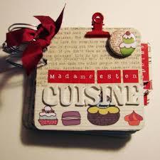 cahier de cuisine à remplir cahier de recettes madame est en cuisine le scrap de cortaline