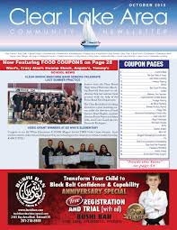 Ecot Help Desk Number by Clear Lake Magazine By Digital Publisher Issuu