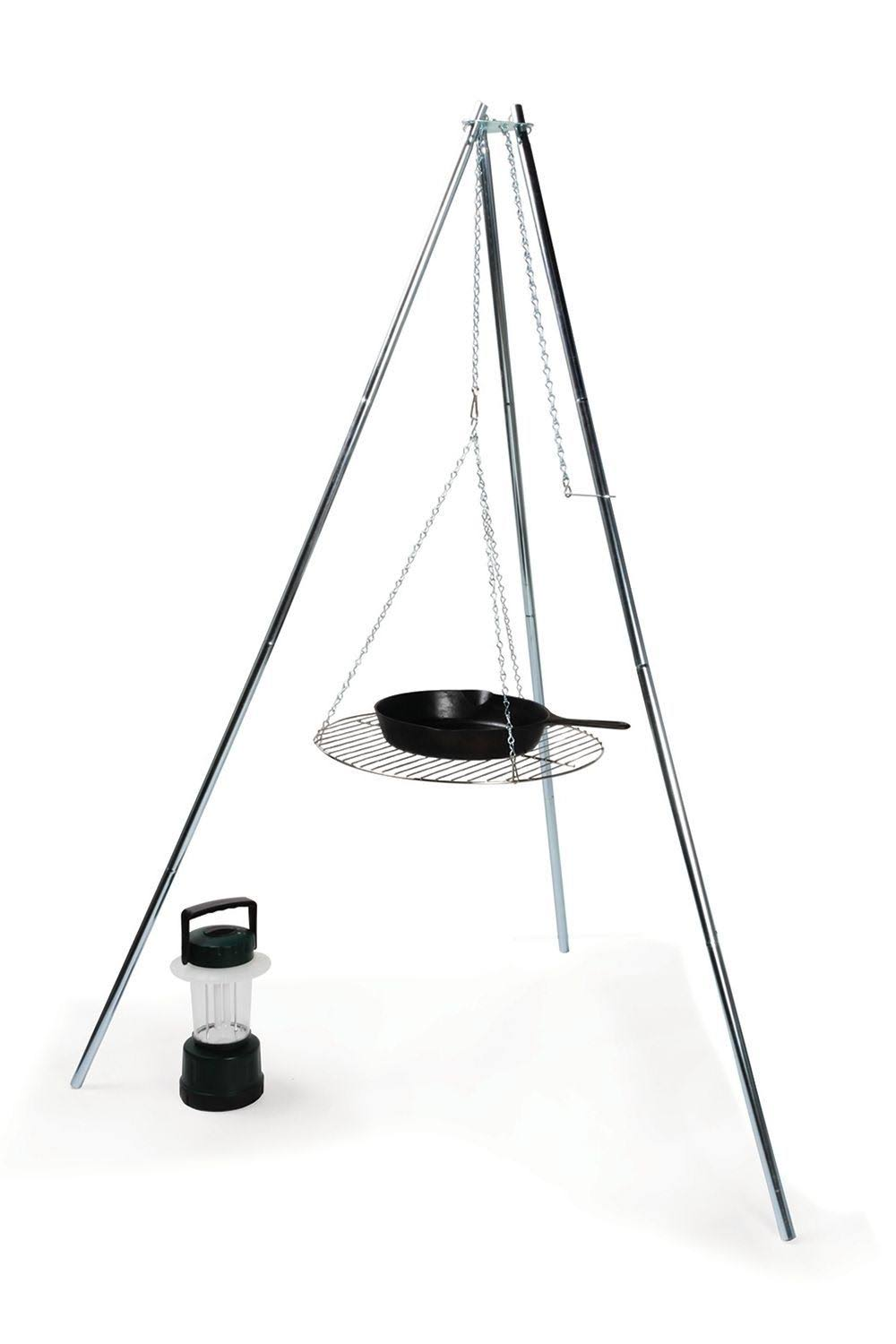 Camco 51079 Tripod Grill and Lantern Holder - 43cm