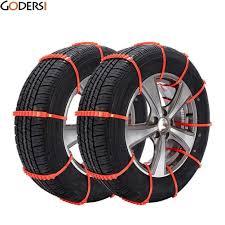 100 Snow Chains For Trucks 10PCS Car Universal Mini Plastic Winter Tyres Wheels