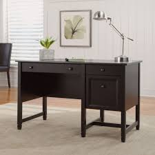 Sauder Beginnings Computer Desk by Sauder Edge Water Desk Estate Black Walmart Com
