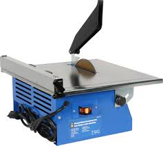 Workforce Wet Tile Saw 7 by 7 In Bench Mount Diamond Saw Princess Auto