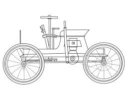 Click To See Printable Version Of Antique Car Coloring Page