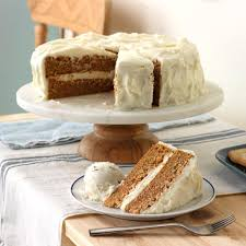 Old Fashioned Carrot Cake with Cream Cheese Frosting Recipe