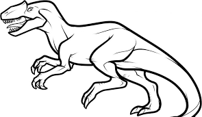 Luxury Dinosaur Coloring Page For Pages Online Animal Free