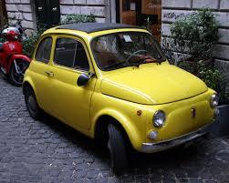 fiat 500 est la voiture de collection la plus prisée des français