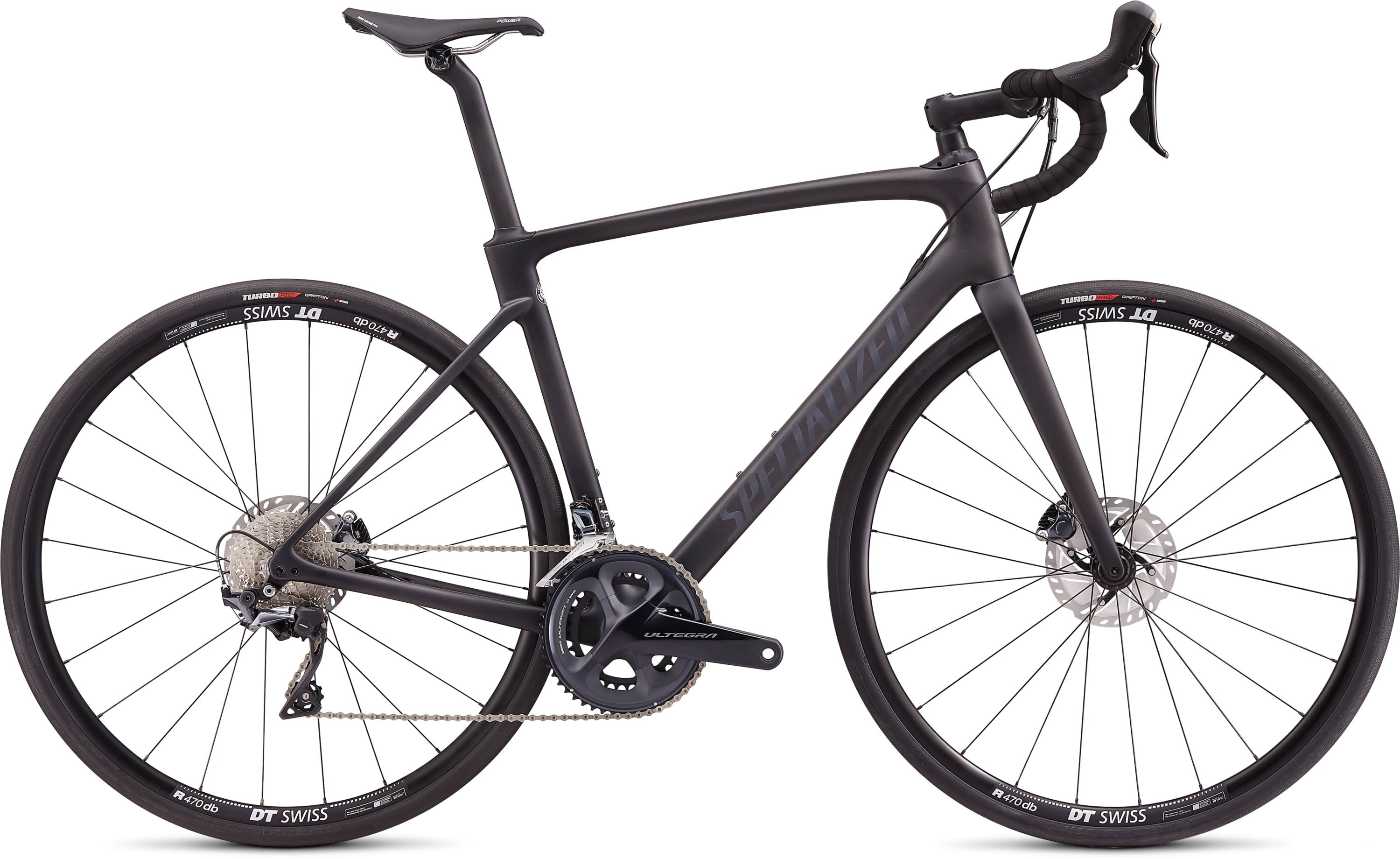 Specialized Roubaix Comp Road Bike - Satin Carbon and Black