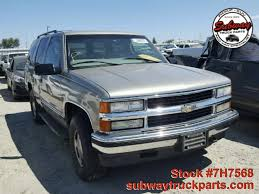 Used Parts 1999 Chevrolet Tahoe LT 5.7L 4x4 | Subway Truck Parts ... Lowering A 2015 Chevrolet Tahoe With Crown Suspension 24inch 1997 Overview Cargurus Review Top Speed New 2018 Premier Suv In Fremont 1t18295 Sid Used Parts 1999 Lt 57l 4x4 Subway Truck And Suburban Rst First Look Motor Trend Canada 2011 Car Test Drive 2008 Hybrid Am I Driving A Gallery American Force Wheels Ls Sport Utility Austin 180416