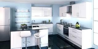 cuisine blanche design decoration cuisine moderne size of design duintrieur de