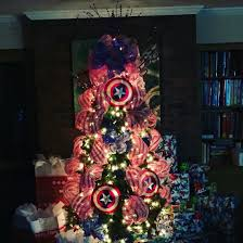 Raz Christmas Decorations 2015 by Captain America Christmas Tree 2015 Captain America Pinterest