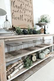Farmhouse Dining Room Decor Ideas Excellent Gray Rectangle Rustic Wooden Stained Cool Modern Full Size