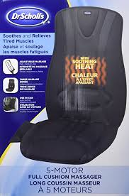 Amazon Massage Chair Pad by Amazon Com Dr Scholl U0027s Soothing 5 Motor Full Cushion Massager
