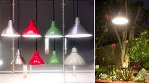 Garden Lighting Idea This Ikea Pendant Lamp Survives the SoCal
