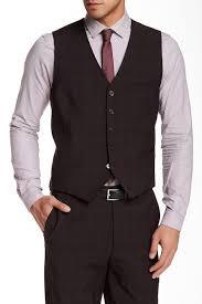 Original Penguin Plaid Suit Separates Vest