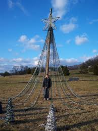 Flagpole Christmas Tree by Pole Christmas Tree Best Interior Design Ideas