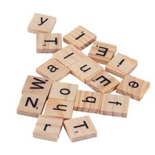 Scrabble Tile Value Calculator by Aliexpress Com Buy 100 Wooden Alphabet For Scrabble Tiles Black