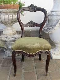 chaise de bureau antique luigi filippo antique chaise pour le bureau entrée bois noyer d
